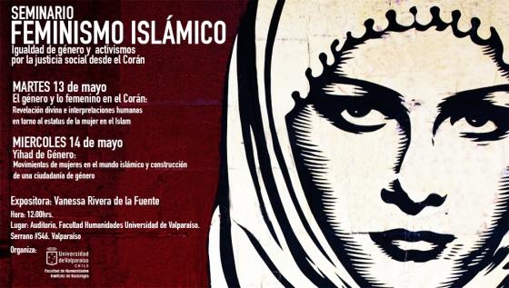 Afiche Seminario Feminismo Islámico v2